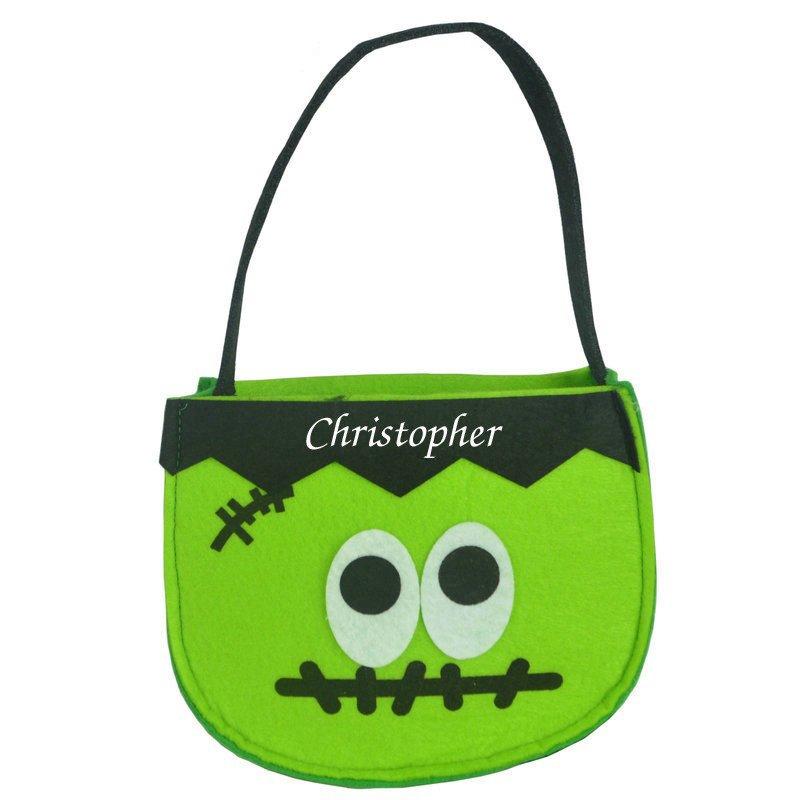 Frankenstein Felt Bucket
