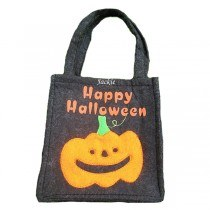 Happy Halloween Pumpkin Trick or Treat Bag