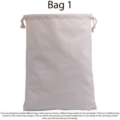 Self Design Fully Custom Trick Or Treat Bag - 1